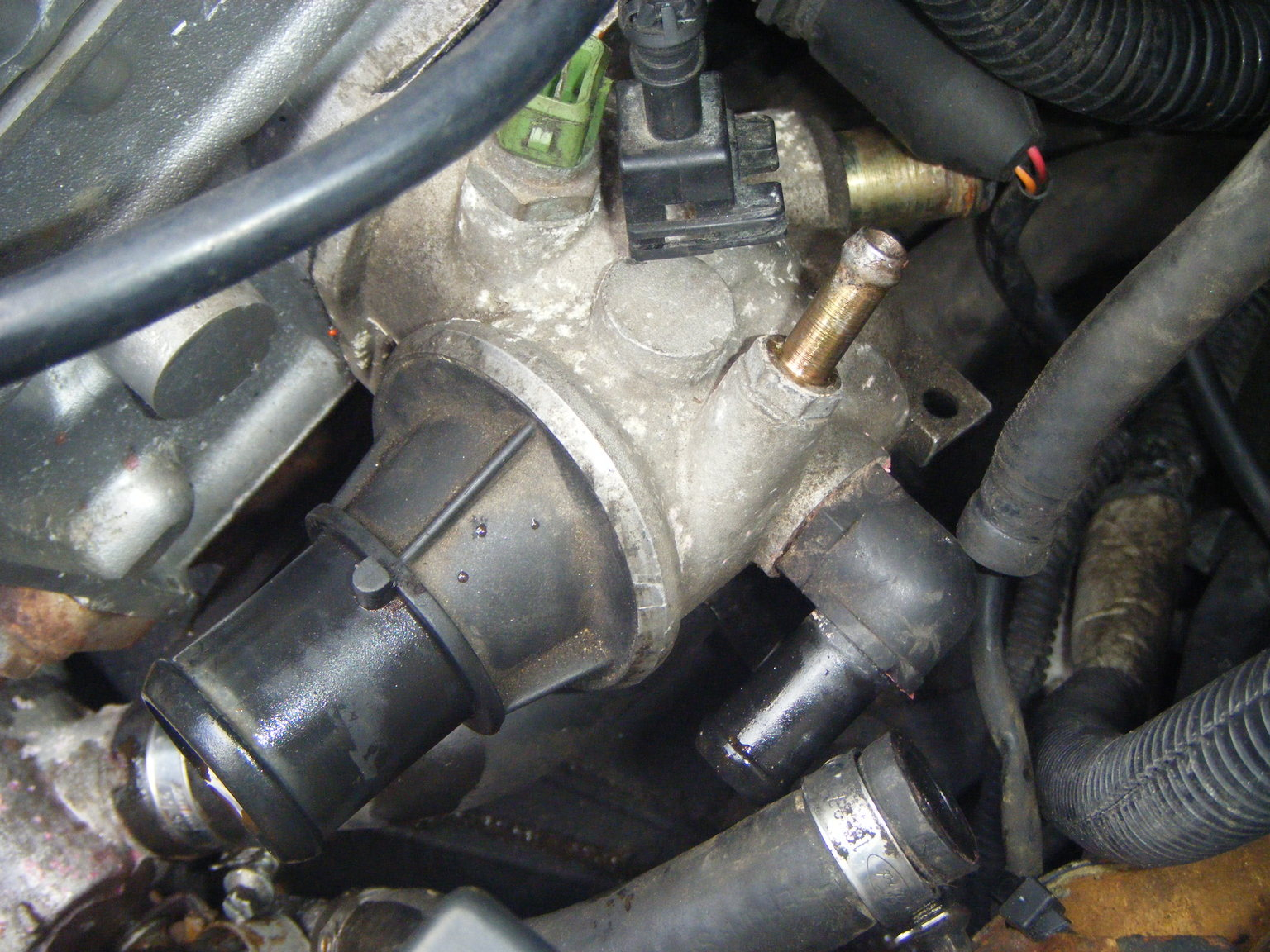 Radiator Replacement Dumdums 2630794 further How To Replace A Temperature Sensor MKIV VWAudi Jetta Golf 18T DIY besides Watch in addition 694975 No Heat further Showthread. on radiator thermostat location