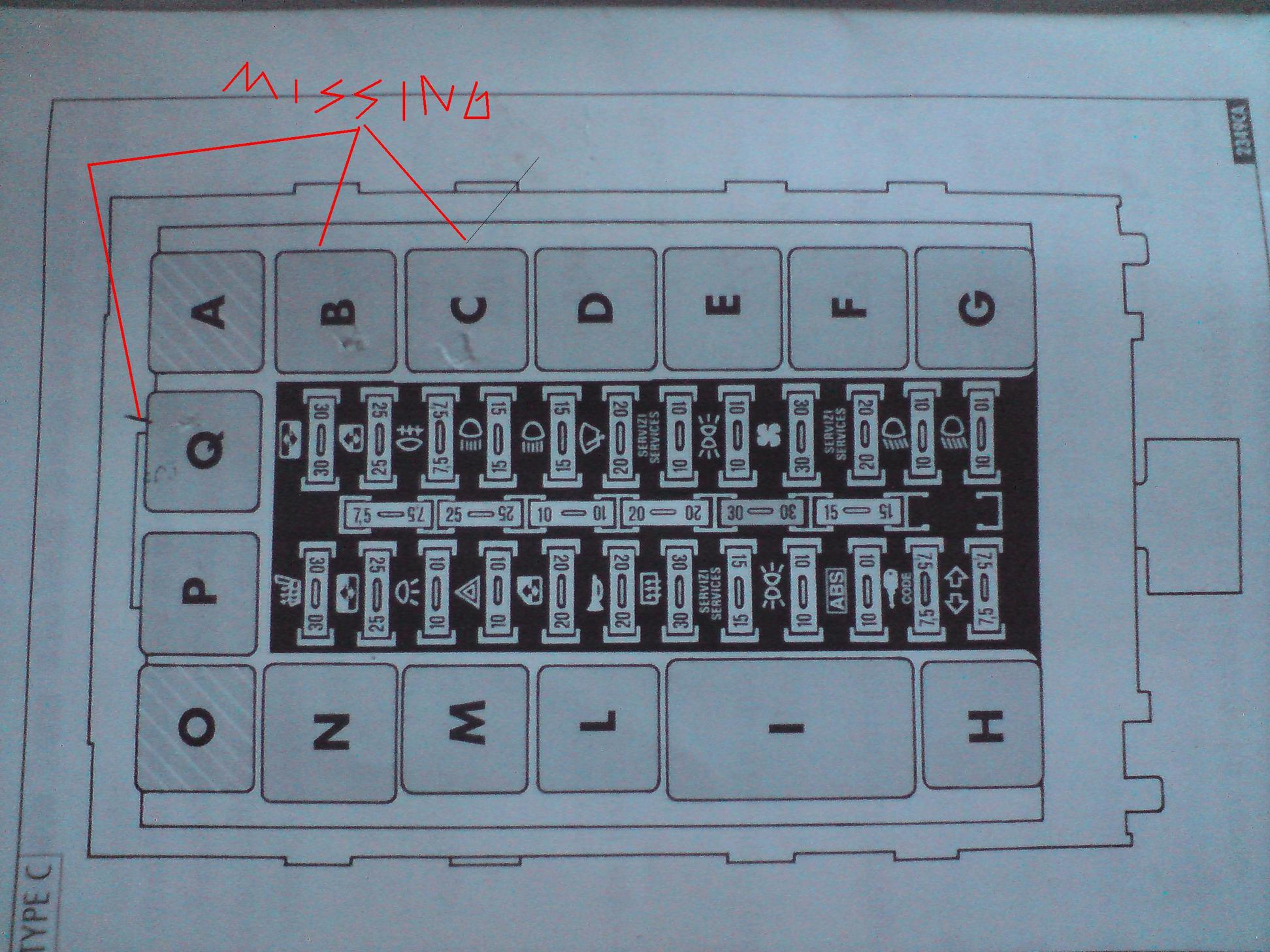 Alfa Romeo 146 Wiring Diagram Fuse Box Schematics Rh Readinghypnotherapist Co Uk Dr3 Lucas